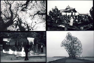 YPEY, BROMO, LONDON (ANISH KAPOOR), LELYSTAD (ANTONY GORMEY) © Volker Ellerbeck